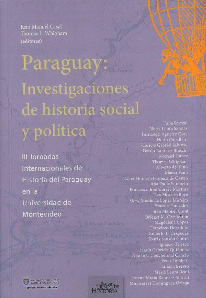 Book Cover: Paraguay: Investigaciones de historia social y política