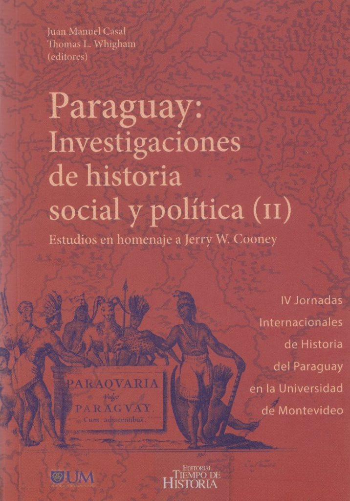 Book Cover: Paraguay: investigaciones de historia social y política (II)